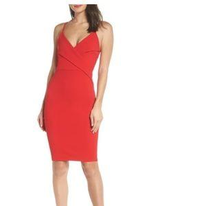 Red lulus spaghetti strap dress